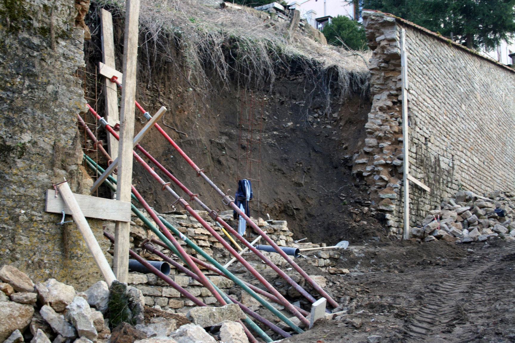 Drainages et terrassements